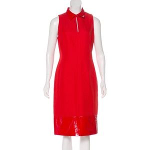 SportMax dress red perfect for Christmas